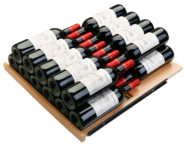 Uitschuifbaar plateau wijnklimaatkast PT-S 200 WK-BK